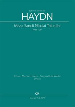 Missa Sancti Nicolai Tolentini - Michael Haydn - laflutedepan.com
