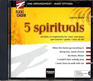 5 Spirituals Cd - Partition - laflutedepan.com