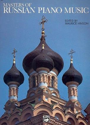 - Masters Of Russian Music - Partition - di-arezzo.fr
