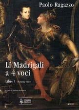 Li Madrigali A 4 Voci - Paolo Ragazzo - Partition - laflutedepan.com