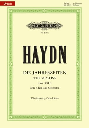 HAYDN - The Hob XXI-3 Seasons - Sheet Music - di-arezzo.co.uk