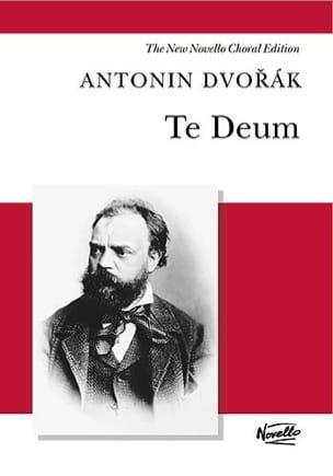 Anton Dvorak - Te Deum Opus 103 - Partition - di-arezzo.fr
