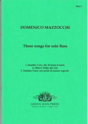 3 Songs For Solo Bass - Domenico Mazzocchi - laflutedepan.com