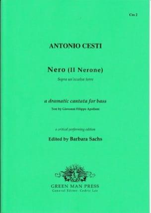 Antonio Cesti - Sopra Un' Eccelsa Torre - Partition - di-arezzo.fr