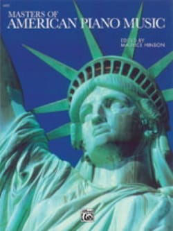Masters Of American Piano Music - Partition - laflutedepan.com