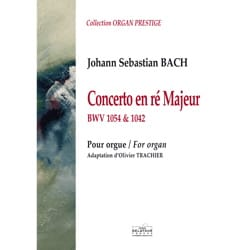 Jean-Sébastien Bach - Concerto en RÉ Majeur - BWV 1054 et 1042 - Partition - di-arezzo.fr