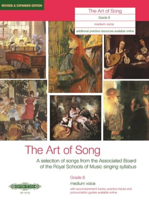 - The Art Of Song Grade 8. Voix Moyenne - Partition - di-arezzo.fr