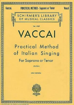 Nicola Vaccai - Practical Method of Italian Singing. Aloud - Sheet Music - di-arezzo.com