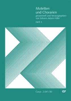 Motets et Arias. Volume 3 - Partition - Chœur - laflutedepan.com