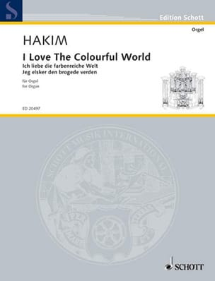 Naji Hakim - I Love The Colourful World - Partition - di-arezzo.fr