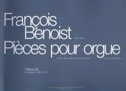François Benoist - Pièces Pour Orgue. Volume 3 - Partition - di-arezzo.fr