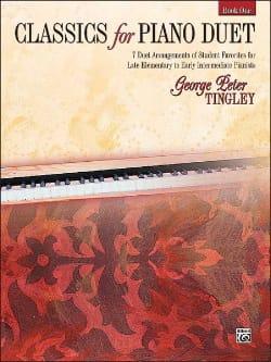 Classics For Piano Duet Book 1 - Partition - di-arezzo.fr