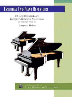 - Essential 2-Piano Repertoire - Sheet Music - di-arezzo.co.uk