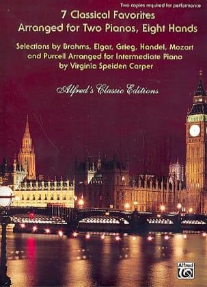 - 7 Classical Favorites. 2 Pianos 8 Hands - Sheet Music - di-arezzo.com