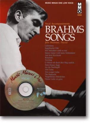 Songs Voix Grave - BRAHMS - Partition - Mélodies - laflutedepan.com