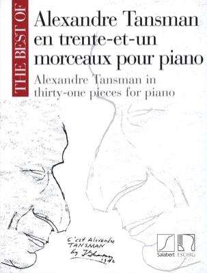 Alexandre Tansman - 31 Morceaux Pour Piano - Partition - di-arezzo.fr