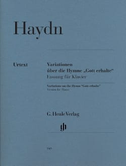 Variations sur l'hymne Gott erhalte Hob 3-77 HAYDN laflutedepan