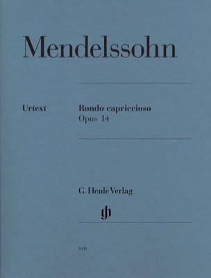 MENDELSSOHN - Rondo Capriccioso Opus 14 - Sheet Music - di-arezzo.co.uk