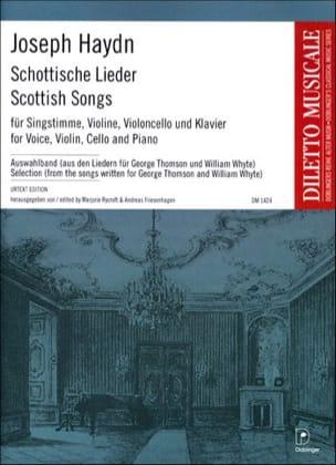 Joseph Haydn - Schottische Lieder Hob 31a-31bis - Partition - di-arezzo.fr