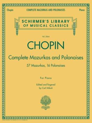 Mazurkas et Polonaises CHOPIN Partition Piano - laflutedepan