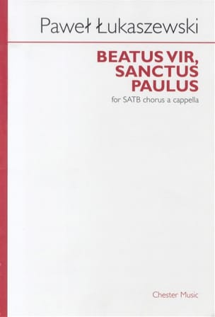 Beatur Vir, Sanctus Paulus Pawel Lukaszewski Partition laflutedepan