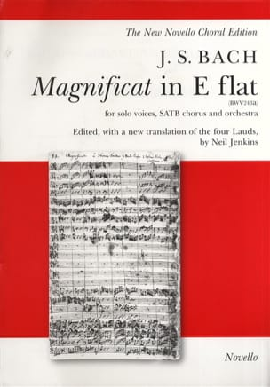 Jean-Sébastien Bach - Magnificat En Mi Bémol BWV 243a - Partition - di-arezzo.fr