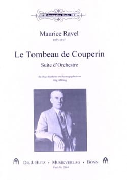 Maurice Ravel - Tombeau de Couperin - Partition - di-arezzo.fr