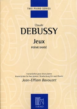 Jeux. 2 Pianos - DEBUSSY - Partition - Piano - laflutedepan.com