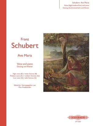 Franz Schubert - Ave Maria - Partition - di-arezzo.fr