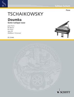 TCHAIKOWSKY - Doumka Opus 59 - Partition - di-arezzo.fr