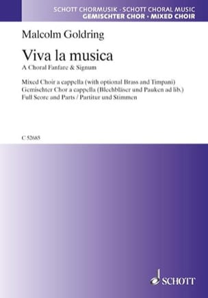Viva la Musica - Malcolm Goldring - Partition - laflutedepan.com