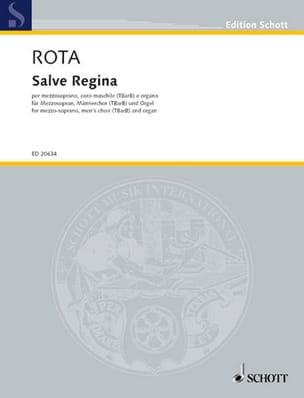 Salve Regina - Nino Rota - Partition - Chœur - laflutedepan.com