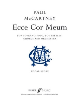 Paul McCartney - Ecce Cor Meum - Partition - di-arezzo.fr