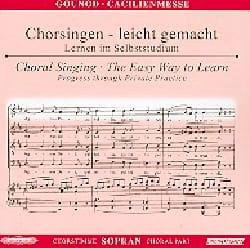 Messe Solennelle de Sainte Cécile. CD Soprano CHOEUR laflutedepan