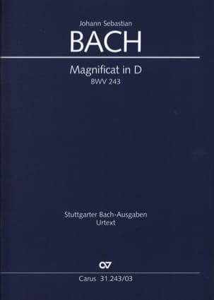 BACH - Magnificat In D Major BWV 243 - Partitura - di-arezzo.es