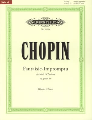 CHOPIN - Fantasy-Impromptu Opus 66 - Sheet Music - di-arezzo.co.uk