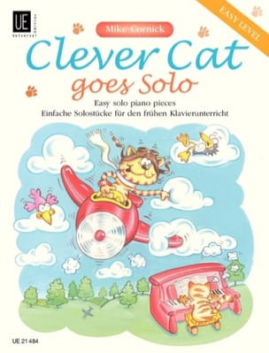 Clever Cat Goes Solo - Mike Cornick - Partition - laflutedepan.com
