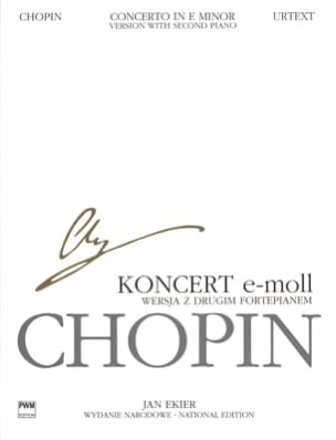 CHOPIN - Piano Concerto No. 1 in E minor Opus 11 - Sheet Music - di-arezzo.co.uk