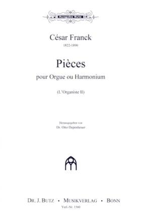 L'Organiste Volume 2 - César Franck - Partition - laflutedepan.com