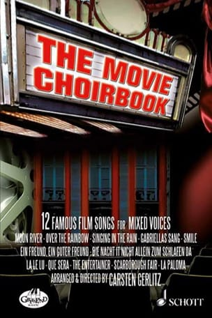 The Movie Choirbook Partition Chœur - laflutedepan