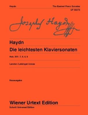 Die Leichtesten Klaviersonaten - Joseph Haydn - laflutedepan.com
