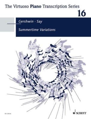 Gershwin Georges / Say Fazil - Summertime Variations - Partition - di-arezzo.fr