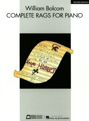 William Bolcom - Complete Rags - Sheet Music - di-arezzo.com