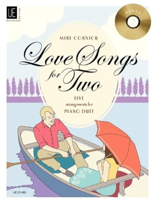 Mike Cornick - Love Songs For 2. - Partition - di-arezzo.fr