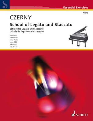 L'ecole Du Legato et Du Staccato Op. 335 CZERNY Partition laflutedepan