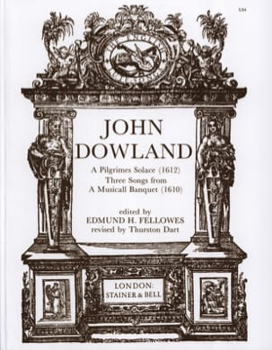 John Dowland - A Pilgrimes Solace / 3 Songs From A Musicall Banquet - Sheet Music - di-arezzo.co.uk