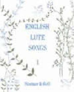- English Luth Songs Volume 1 - Sheet Music - di-arezzo.co.uk