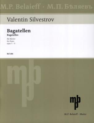 Valentin Silvestrov - Bagatellen - Partition - di-arezzo.fr