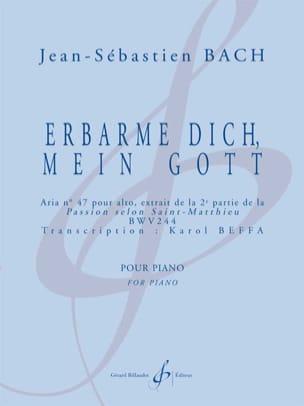 Bach Jean-Sébastien / Beffa Karol - Erbarme Dich, Mein Gott - Sheet Music - di-arezzo.co.uk
