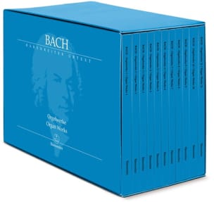 BACH - Complete Work for Organ in 11 Volumes - Sheet Music - di-arezzo.co.uk